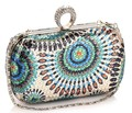 Best Price Women's Dazzling Sequins Finger Evening Bag, Beaded Sequin Clutch Bags, OL Business Dinner Clutch Bag 5Color NO3008