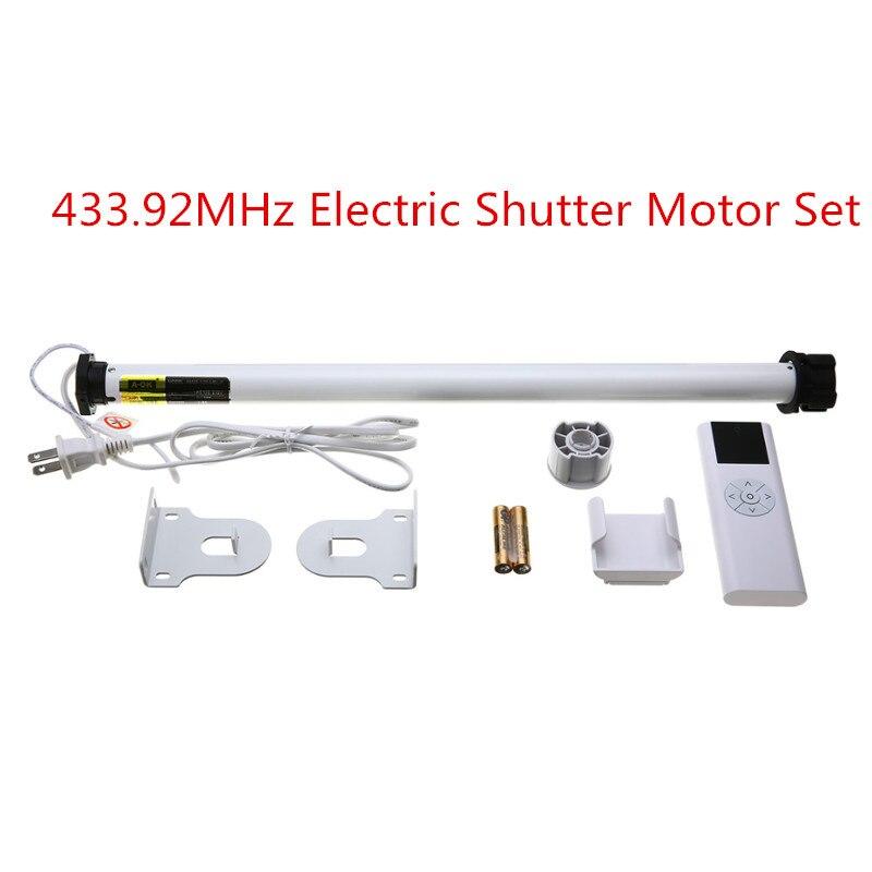 AC 100-240 v Électrique D'obturation Moteur Électrique Roller Shade Moteur Tubulaire Télécommande Ensemble