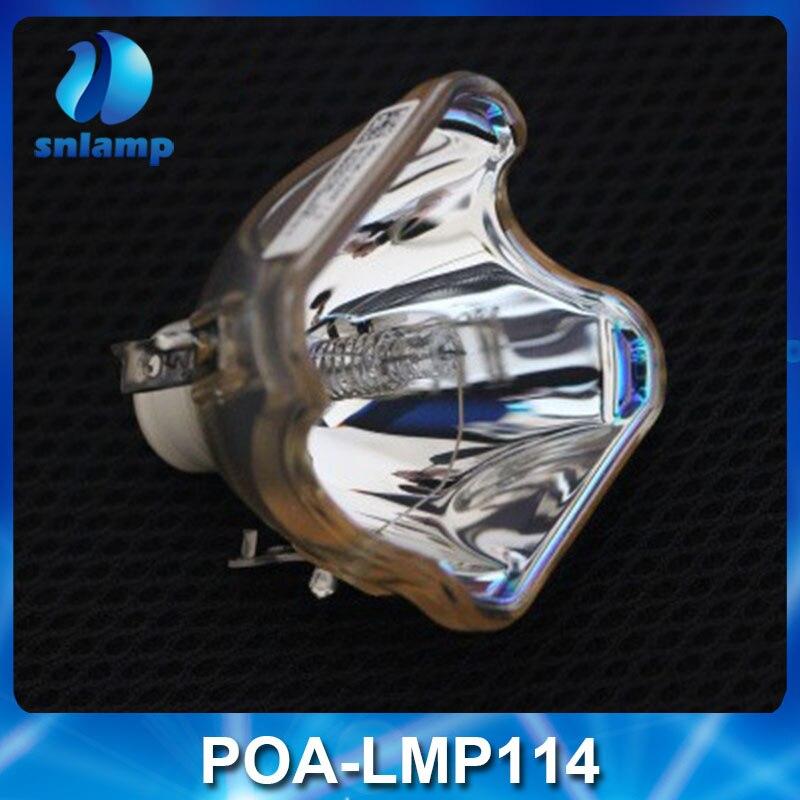 100% original POA-LMP114 bare UHP 200/150W 1.0 E19.5 lamp for PLV-Z2000 PLV-Z700 PLV-Z3000 PLV-Z4000 PLV-Z800 PLV-1080HD ect