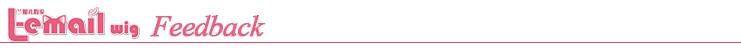 L-email peruca longa gradiente rosa, onda solta,