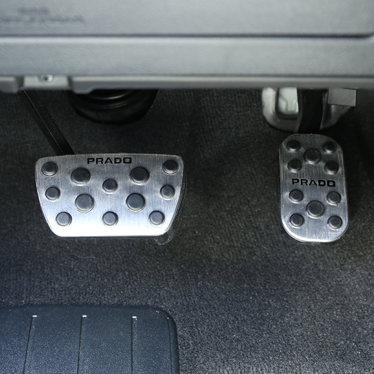 Image 5 - Car Accelerator and Brake Pedals for Toyota Land Cruiser Prado 150 2010 2012 2013 2014 2015 2016 2017 2018 AT Accessories-in Chromium Styling from Automobiles & Motorcycles