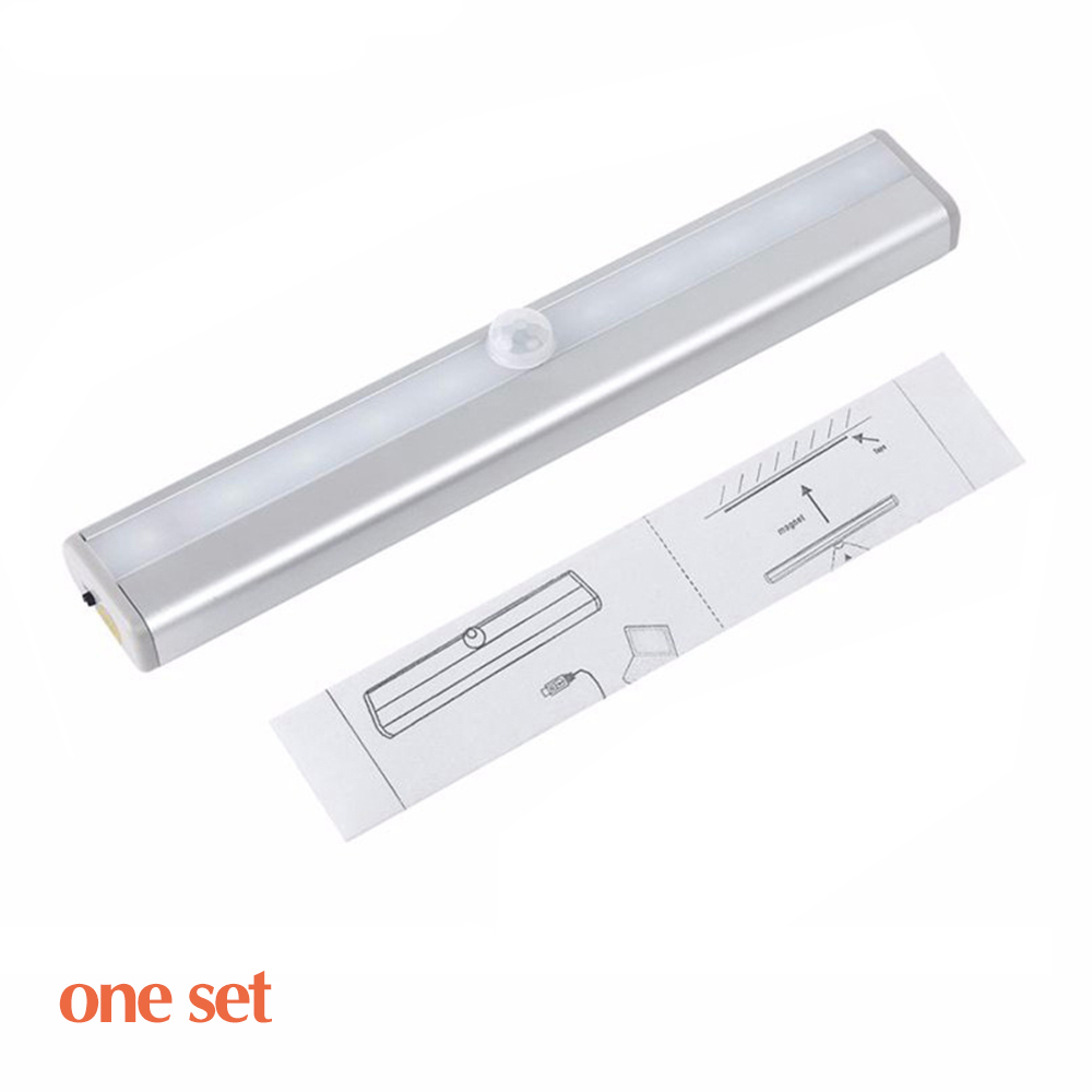 BSOD Under Cabinet Light Wall Lamp LED Cordless Lamp Motion Sensor Automatic Light lamp 10 LED Wireless Lamp Sticky Anywhere