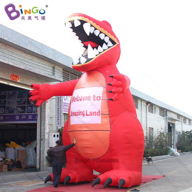 advertising inflatable dinosaur/ 20ft tall giant inflatable dinosaur / 6m tall dinosaur inflatable - toy