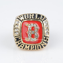 Replica 2004 Boston Red Sox Major League Baseball Solid Championship Ring Size 11