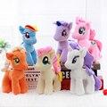 """1 Pcs 6 """"15 cm bonito rainbow cavalo brinquedos dos desenhos animados brinquedos hobbies stuffed dolls filme tv bichos de pelúcia plush little horse baoli"""