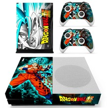Xbox One Slim Dragon Ball Skin Console 4 Skins