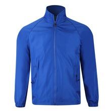 Unisex Microfiber Windbreaker Jacket