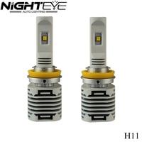 Nighteye 2Pcs 9005 HB3 9006 HB4 H11 H4 H7 Led Auto Car Headlight 80W 12000LM 6000K