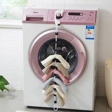 Vanzlife calcetines para el hogar cuerda colgante creativo multifunción de lavado de ropa cesta de lavado de red Calcetines de secado estante de calcetines