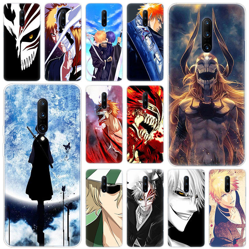Hot Anime Bleach Soft Silicone Fashion Transparent Case For font b OnePlus b font font b