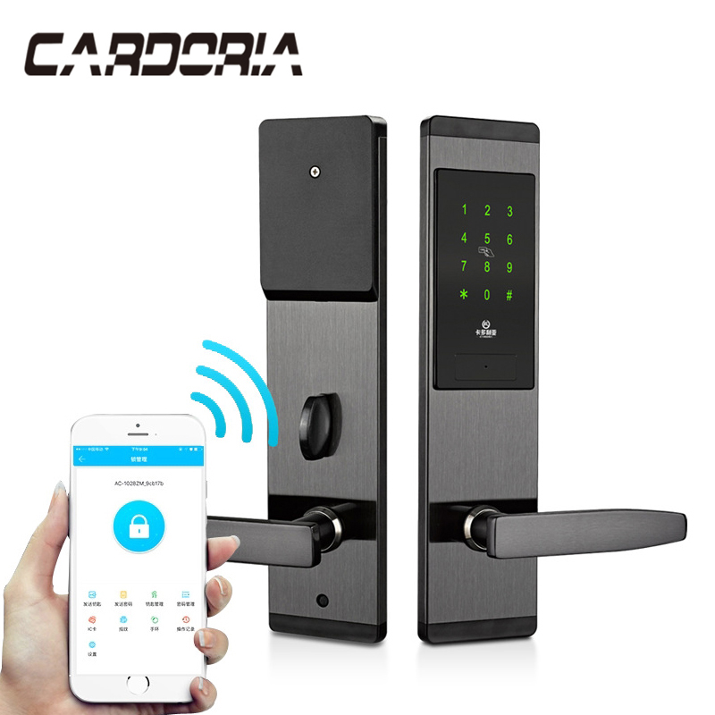 Security Electronic Keyless Door Lock Digital Smart APP WIFI Touch Screen Keypad Password Lock Door Free Tax To BrazilSecurity Electronic Keyless Door Lock Digital Smart APP WIFI Touch Screen Keypad Password Lock Door Free Tax To Brazil