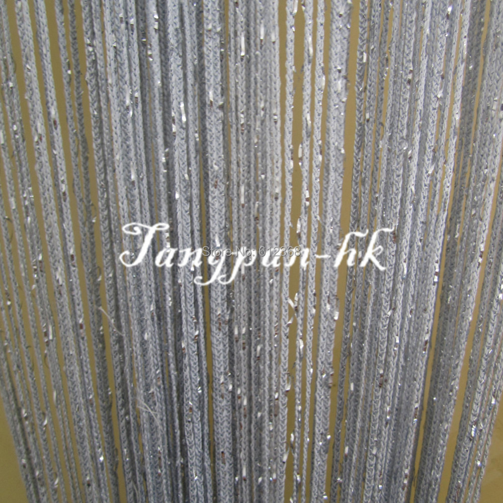 Tangpan 7 Colors Fringe Sparkle Rare Flat Glitter Door Curtain Fly Screen Room Divider Windows Blind Tasse Panel Decoration In Curtains From Home Garden