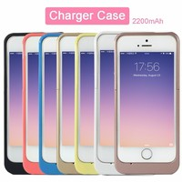 2200mah Charger Case External Power Bank Power Case For IPhone 5 5C 5S SE Backup Battery