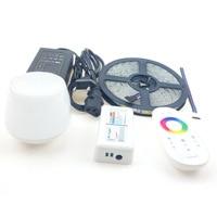 Mi Light WIFI Ibox Smart RGBW RGBWW LED Strip Kit 5m 5050 Smd Flex Ribbon Striscia
