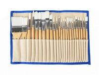 VIVCOR Oil Painting Brush Suit Acrylic Paint Brush Set Watercolor Nylon Hair Brush For Gouche 24