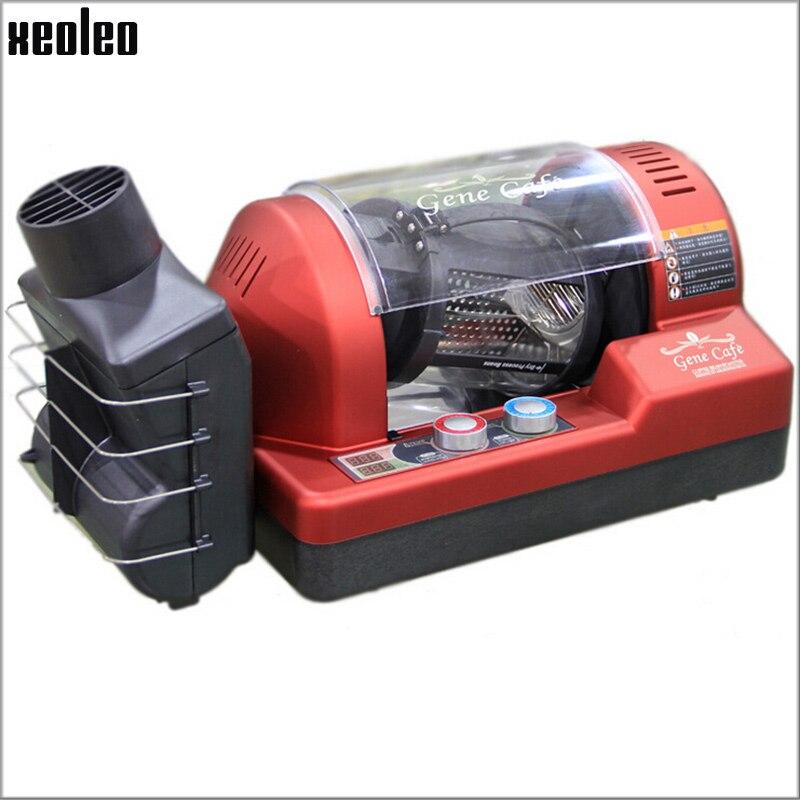 Ev Aletleri'ten Kahve Kavurma Makineleri'de Xeoleo GENECAFE kahve kavurma 1400 W/220 V 3D sıcak hava kahve çekirdeği kavurma küçük tip profesyonel 300g kahve kavurma