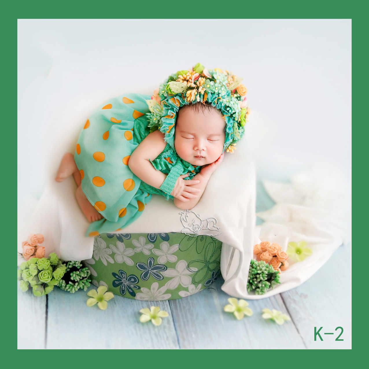 Nuevos accesorios para fotografía de bebé, marco de cesta, accesorios Fotografia, regalo de Ducha