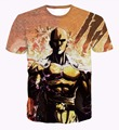 Newest Design One Punch Man 3d T shirts Fashion Summer Anime Printing Men's Hipster Short Sleeve Cool Tee Shirts Tops