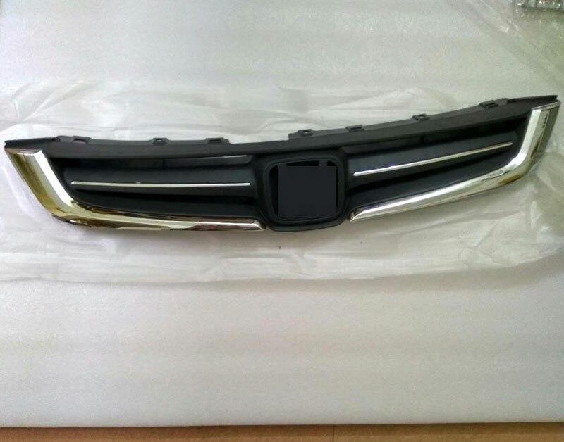 Fits 2006-2007 Honda Accord MX Grille Upper /& Lower Insert Kit Black