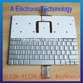 Novo Tailandês Tailandês Teclado Teclado Para Apple Powerbook G4 A1138 A1139 Substituição de Cor Prata
