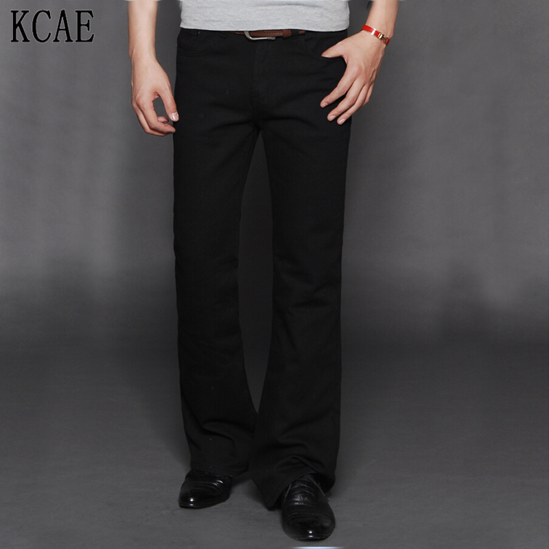 Black Boot Cut Jeans for Men Promotion-Shop for Promotional Black