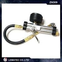 Lematec тяжелых циферблат шин с манометром для накачивания шины воздуха пистолет Шины инструменты