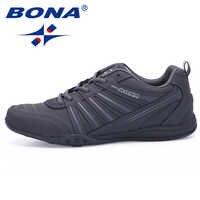 BONA Neue Ankunft Beliebte Stil Männer Laufschuhe Outdoor Walking Jogging Schuhe Lace Up Sportschuhe Bequeme Sportschuhe