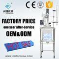20L reactor de vidrio fabricante venta bioquímica reactor/caldera de reacción de vidrio con condensador frasco de goteo PTFE