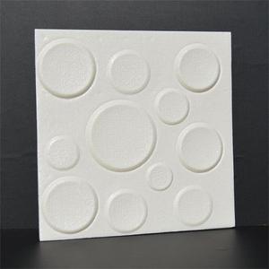 ПЭ пенопластовая эластичная 3D пластина, квадратная Настенная Наклейка 30*30 см, домашний декор, гостиная, ТВ, диван, настенная самоклеящаяся ж...