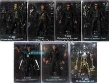 NECA figurine du Terminator 2, figurine T 800 endosquelette classique, jouet, 7 pouces, 18cm, 7Styles
