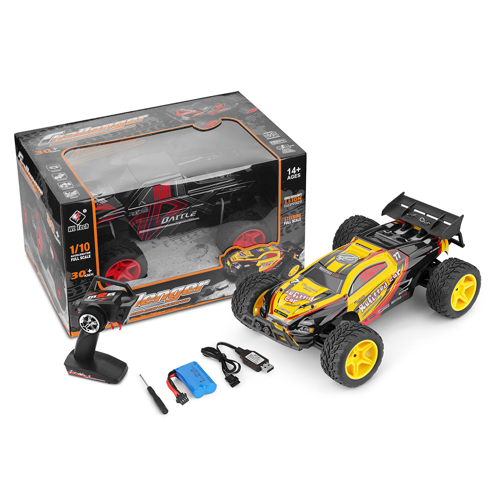 WLtoys L229 Mini RC Racing Car 1:10 Fast Speed Off-Road RC Car Electric Brushed 2WD 30km/H 2.4GHz Wireless Remote Control