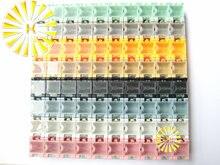 Высокое качество 80 шт. х SMD Конденсатор Резистор SMT Электронных Компонентов Мини ящик Для Хранения Практические Ювелирные Изделия storaged Случае 8 цветов
