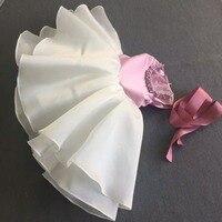 2 шт. реальные фото розовый платье для маленьких девочек топ без рукавов с обувь малыша платье для маленьких девочек платье принцессы