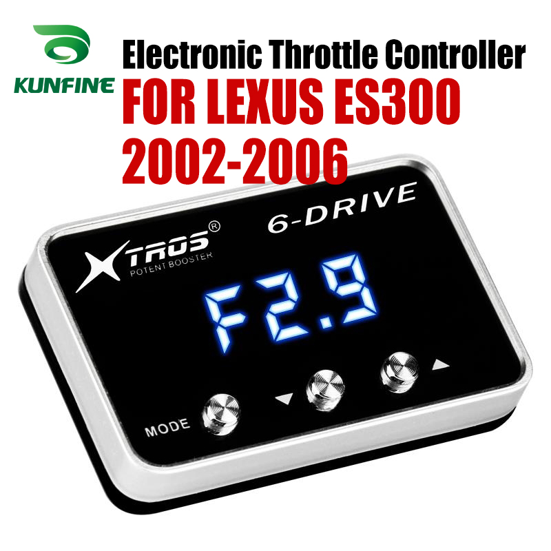 Car Electronic Throttle Controller Racing Accelerator Potent Booster For LEXUS ES300 2002-2006 Tuning Parts AccessoryCar Electronic Throttle Controller Racing Accelerator Potent Booster For LEXUS ES300 2002-2006 Tuning Parts Accessory