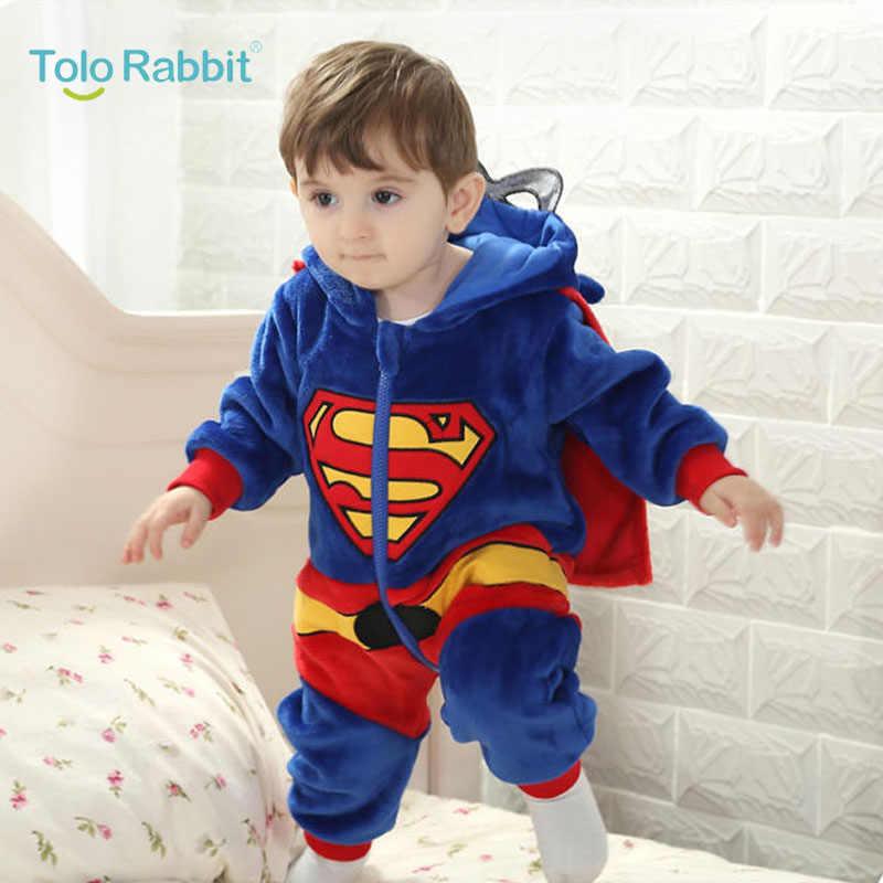 bb29670da Baby Boys Romper 2017 Newborn Soft Jumpsuits Infant Super Hero Clothes Girls  Cosplay Clothing Child Cartoon