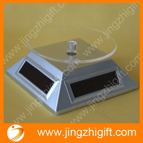 Solar Rotating Display Stand In The Retail Stores Or Supermarkets
