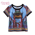 New Style Handsome Boys T-Shirt Print Children Tops Boy Clothing BT90318-16L