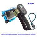 Handheld estabilizador de gatilho do obturador selfie monopé flutuante handle monte tripé lente de mergulho não-deslizamento aperto para gopro 4 3 + 3 gp294