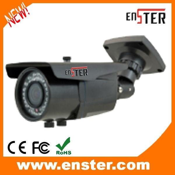 ФОТО IP66 Waterproof  Varifocal lens 60m IR Range Bullet Analog Camera CCTV Security Surveilance Cam  CCD SONY EFFIO-E 700TVL