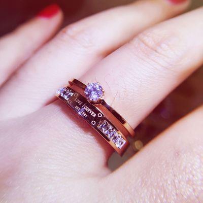 MJARTORIA Luxury Bridal Crystal Cross Ring Jewelry Finger Ring Gold Color CZ Zircon Wedding Rings Women Gift Size 5/6/7/8/9
