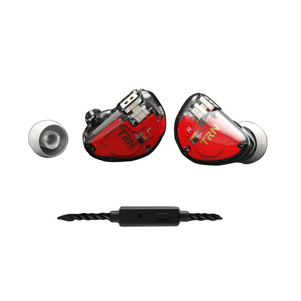 Balanced Armature 2BA+1DD Hybrid In Ear Earphone IEM HIFI Monito Sport Earphone 3 Drive Earplug Headset 2Pin Detachable With Mic image