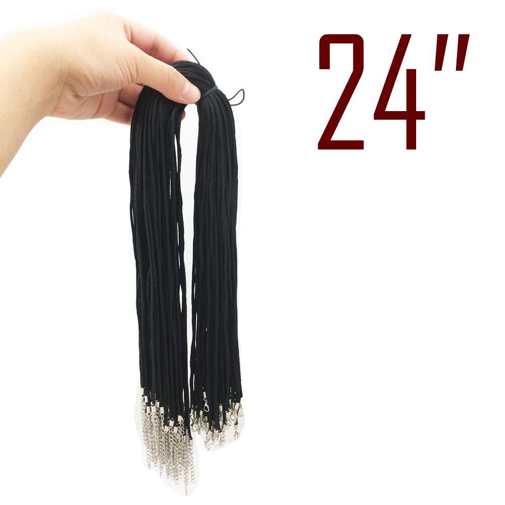 """1000 шт 2,5 мм черный атласный шнур ожерелье Китайский полиэстер(аналогичный, но не нейлоновый) шнур с застежкой-24"""""""