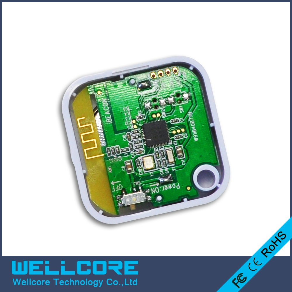 Wellcore beacon Smallest Ibeacon Bluetooth 4.0 Ibeacon Module