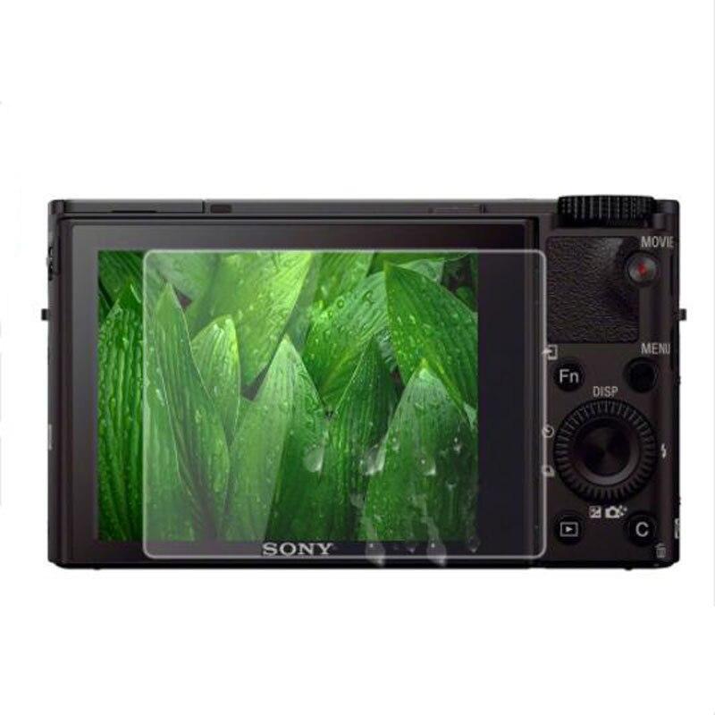 מזג זכוכית מגן עבור Sony DSC RX1/RX1R/RX100 M6 M5 M4 M3 M2 RX100m3/RX10 סימן II III IV V VI LCD מסך מגן סרט