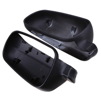 POSSBAY Car Rear View Caps Fit for VW Golf MK4 2000 2007 ABS Door Side Wing Mirror Matte Black Cover Exterior Accessories Espejo