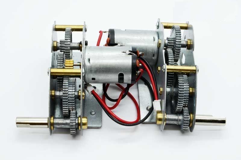 Henglong 3818 3819 3848 3849 3858 3859 3868 ect 1/16 RC réservoir pièces en métal système d'entraînement/metal gear box livraison gratuite