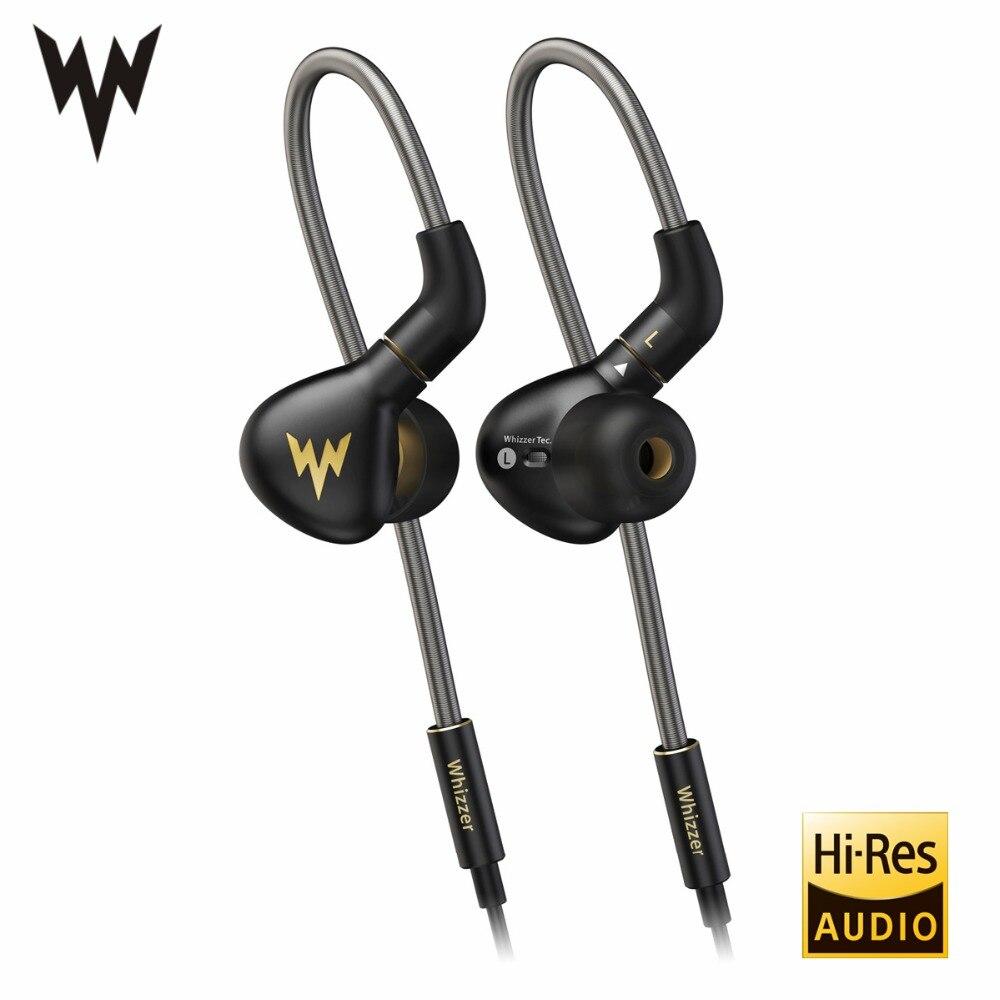 Whizzer A15 Pro écouteurs évolutifs HiFi Salut-Res Pur Clair Un Son Équilibré En Métal Dans L'oreille Écouteurs avec MMCX Câble Officiel magasin