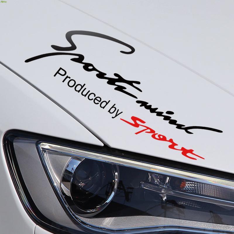 Универсальный спортивный умом дизайн автомобиля наклейка на бампере,фэшн слова украшения высечки наклейки и отличительные знаки для Форд Фокус/Ситроен C4/БМВ