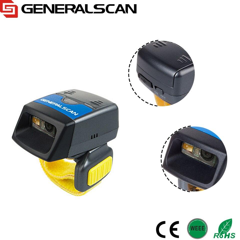 Hot Sale Generalscan GS R1500BT-HW wearable 2D Imager Ring barcode scanner