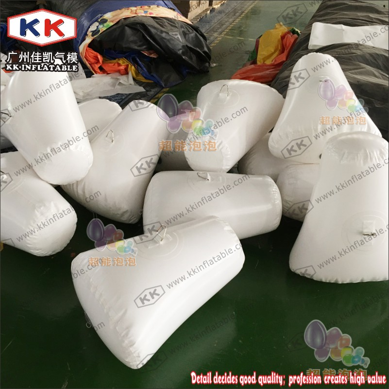 Advertising Water Floating Inflatable Buoy / Swim Buoys Inflatable Buoy For Racing Marks